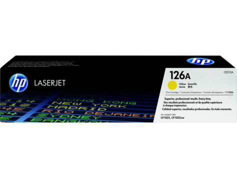 Картридж HP Laser/yellow CE312A
