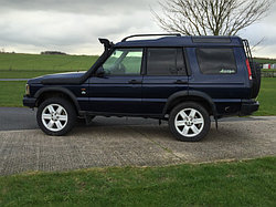 Land Rover Discovery II шноркель- T4