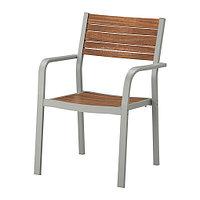 Кресло садовое ШЭЛЛАНД светло-коричневый ИКЕА, IKEA