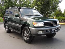 Toyota Land Cruiser 100 / 105 и Lexus LX470 шноркель- T4