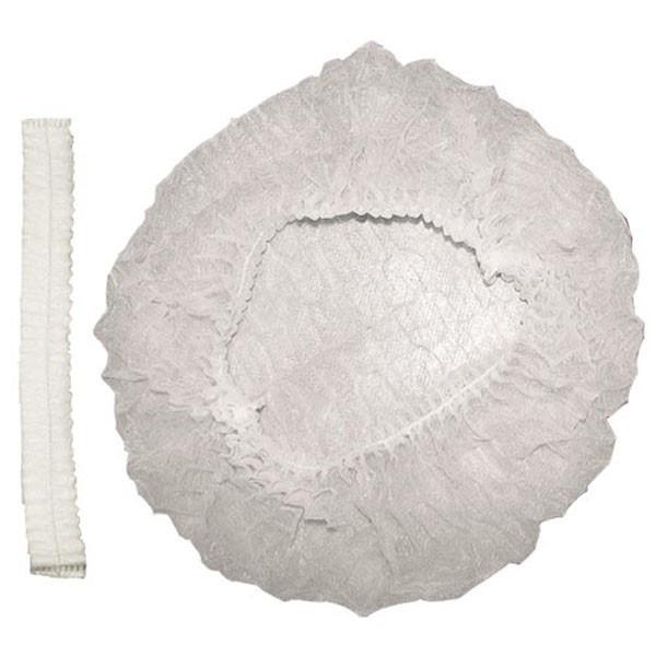Шапочка шарлотта белая (100/1000) (1 упаковка - 100шт)