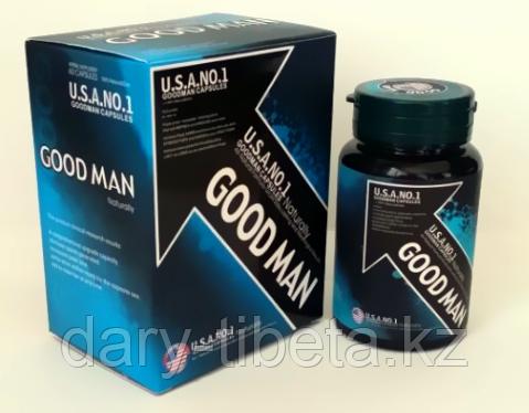 Good Man Penis USA NO1(60капсул)Самец