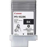 Картридж Canon 0895B001AA PFI102B BLACK IPF500/Designjet/№102/black/130  ml