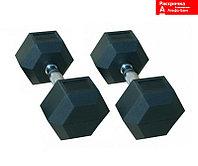 Гантели гексагональные 20 кг + 20 кг