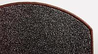 Коврики для лестниц Ангара коричневый17*55  в розницу