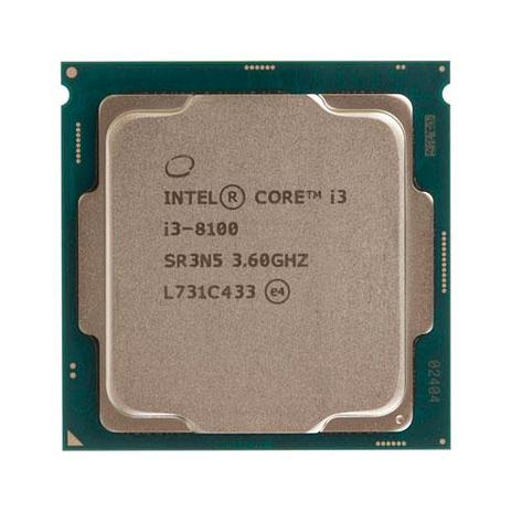 Процессор Intel 1151v2 i3-8100 6M, 3.60 GHz HD630 oem 4/4 Core CoffeLake (i3-8100 oem), фото 2