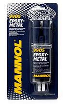 MANNOL EPOXY-METAL (клей для металла)