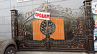 Кованые ворота, фото 1