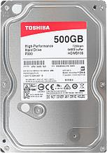 Жесткий диск TOSHIBA HDWD105UZSVA P300 High-Performance 500GB3.5 7200 об/мин 64Мб SATA III