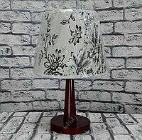 Лампа настольная, деревянная , фото 1