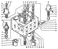Гидроаппарат гидроцилиндровЭО-5122.06.09.000-3сб