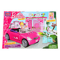 Конструктор Mega Bloks Barbie Convertible Автомобиль Барби, 79pcs