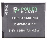 Аккумулятор PowerPlant Panasonic DMW-BCM13E 1250mAh