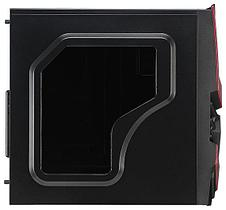 Корпус Aerocool, Cyclops Advance Red, ATX/Micro ATX, USB 2*3.0, HD-Audio+Mic, Кулер 12cm, Без Б/П,, фото 3