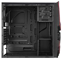 Корпус Aerocool, Cyclops Advance Red, ATX/Micro ATX, USB 2*3.0, HD-Audio+Mic, Кулер 12cm, Без Б/П,, фото 2