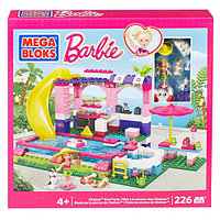 Конструктор Mega Bloks Barbie Pool Party Бассейн Барби, 159pcs