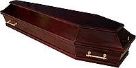 Гроб лакированный шестигранный матовый, фото 1