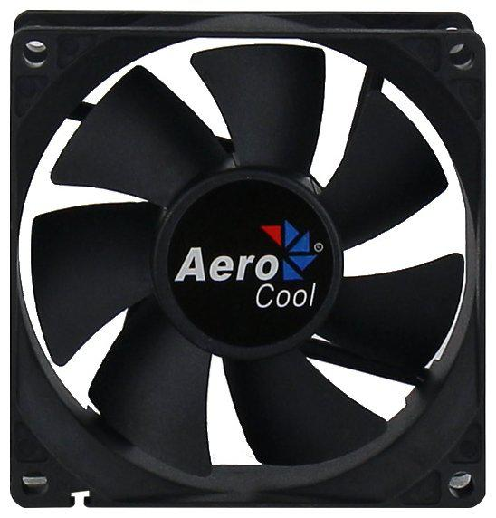 Кулер для кейса, Aerocool, Dark Force 8cm Black, 80мм, Чёрный