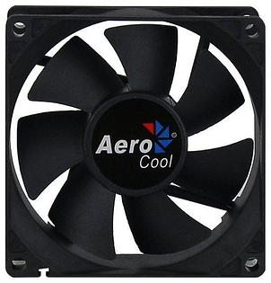 Кулер для кейса, Aerocool, Dark Force 8cm Black, 80мм, Чёрный, фото 2