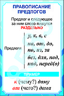 Плакаты русский язык 1 класс, фото 1