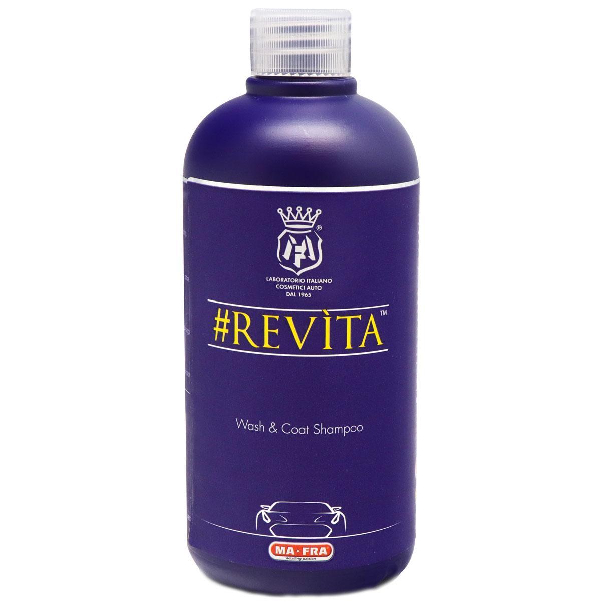 Жидкое стекло, сатин или лед #REVÌTA -100ml (нано-шампунь для поддержки нанокерамики)