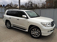 Аренда белой Toyota Land Cruiser 200