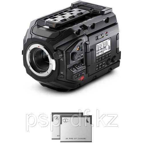 Blackmagic Design URSA Mini Pro 4.6K Digital Cinema Camera + 2 CFAST 256 GB