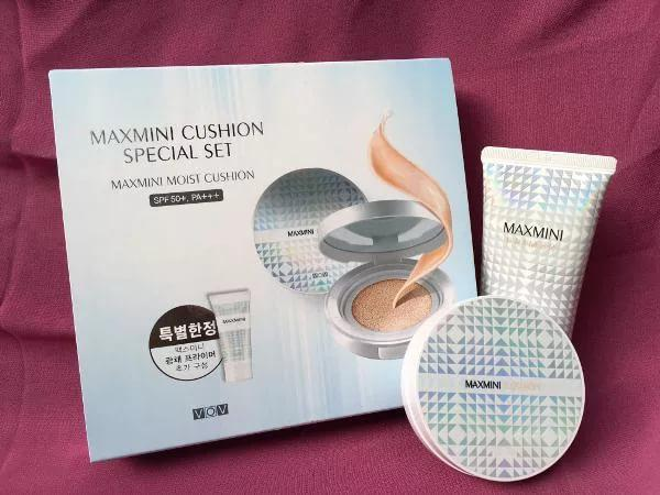 VOV MAXMINI MOIST CUSHION SPECIAL SET - Комплект Кушон и Праймер