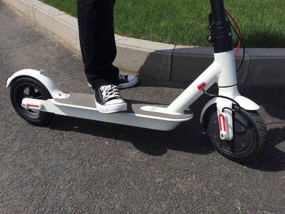 Дубликат Электросамокат Xiaomi Electric Scooter, Белый(White)
