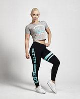 Короткая футболка для фитнеса Better Bodies светло-серая Светло-серый, S