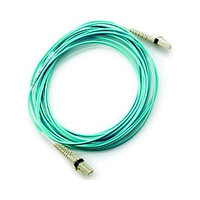 HPE LC to LC Multi-mode OM3 2-Fiber 2.0m 1-Pack Fiber Optic Cable