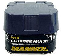 MANNOL SCHLEIFPASTE PROFI SET (профессиональный набор полиролей)