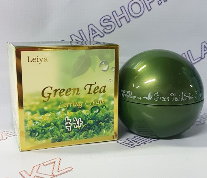 Leiya Green Tea Lifting Cream (Крем для лица на основе Зеленого Чая ,Лифтинг)