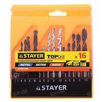 Набор сверл комбинированных Stayer Standard 29720-H16