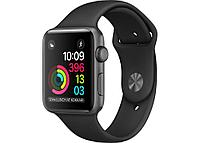 Apple Watch Series 1, 42mm Space Grey Aluminium Case with Black Sport Band, Model A1803
