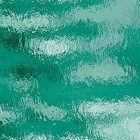 Teal Green Rough Rolled