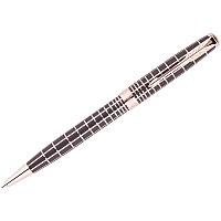 "Ручка шариковая Parker ""Sonnet Brown PGT"" черная, 1,0мм, поворот., подар. уп."