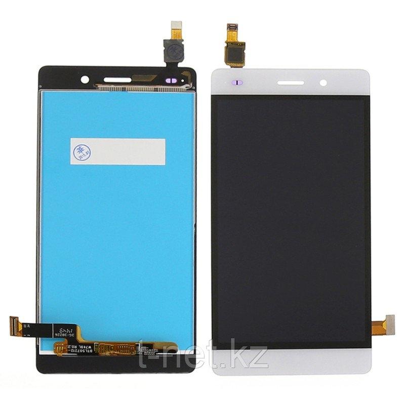 Дисплей Huawei P8 Lite ALE-L21, с сенсором, цвет белый