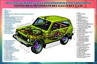 Плакаты Устройство ВАЗ-21213 и 21214, фото 1