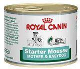 Royal Canin Starter Mousse, 195г, Роял Канин начальный корм для щенков