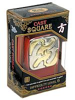 Головоломка Cast Square, difficulty Level 6, Hanayama, фото 1