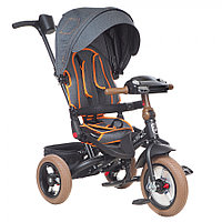 Трехколесный велосипед Mars Mini Trike Transformer T400/2018 Jeans Light Black
