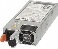 Блок питания Dell Hot-plug Power Supply (1+0), 495W,CusKit/13G Servers 450-AEBM