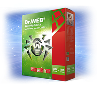 Dr.WEB Security Space 2 ПК 1 ГОД