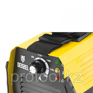 Аппарат инвертор. дуговой сварки DS-200 Compact, 200 А, ПВ 70%, диам.эл. 1,6-5 мм// DENZEL, фото 2