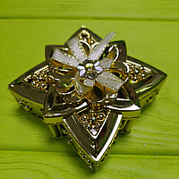 Банбоньерка Золотой цветок, фото 1