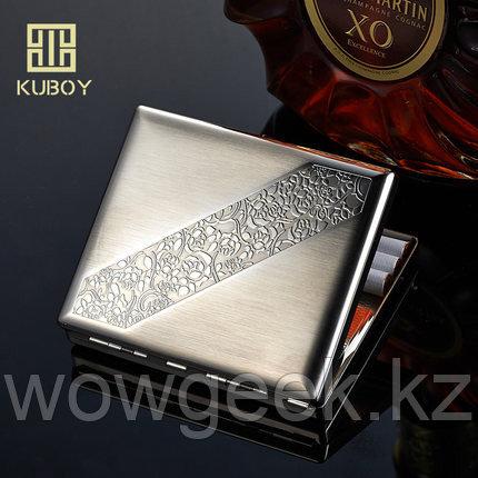 Роскошный портсигар KUBOY