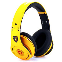 "Наушники Monster Beats by Dr. Dre Studio  Lamborghini "" Жёлтые "", фото 1"