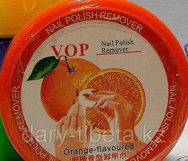 Салфетки для снятия лака апельсин