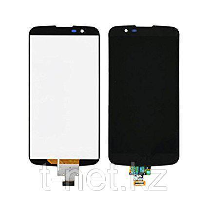 Дисплей LG K10 K410E , с сенсором, цвет черный